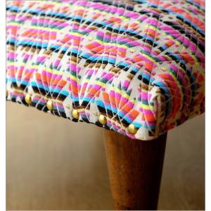 スツール おしゃれ クッション 低い ロータイプ 子供 椅子 ローチェア オットマン 足載せ 布張り 生地 かわいい 可愛い 四角 正方形 ロースツール スクエア|gigiliving|05