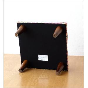 スツール おしゃれ クッション 低い ロータイプ 子供 椅子 ローチェア オットマン 足載せ 布張り 生地 かわいい 可愛い 四角 正方形 ロースツール スクエア|gigiliving|06