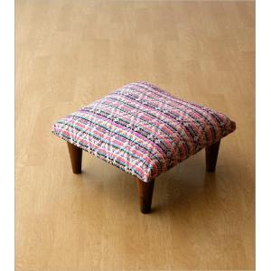 スツール おしゃれ クッション 低い ロータイプ 子供 椅子 ローチェア オットマン 足載せ 布張り 生地 かわいい 可愛い 四角 正方形 ロースツール スクエア|gigiliving|07