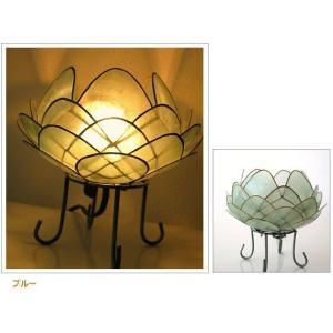 アジアン 照明 インテリアランプ 卓上スタンドライト テーブルランプ 間接照明 カピスロータスランプ L|gigiliving|12
