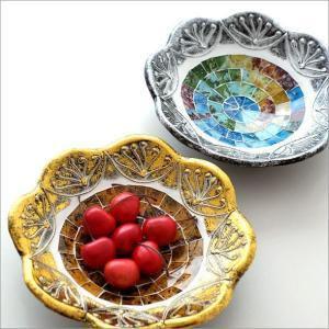 トレー トレイ お皿 モザイクトレイ ブルーム2カラー|gigiliving