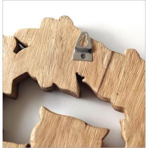 WELCOME ウェルカム 看板 玄関 ふくろう オブジェ エントランス 天然木 木彫り 壁掛け 雑貨 木彫りフクロウの壁掛けA|gigiliving|05