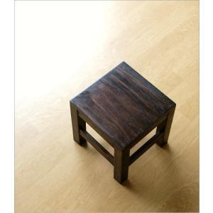 スツール 木製 椅子 いす イス ミニスツール 玄関 花台 ミニテーブル ウッドチェア おしゃれ スクエアスツール gigiliving 02