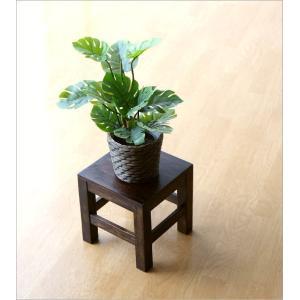 スツール 木製 椅子 いす イス ミニスツール 玄関 花台 ミニテーブル ウッドチェア おしゃれ スクエアスツール gigiliving 03