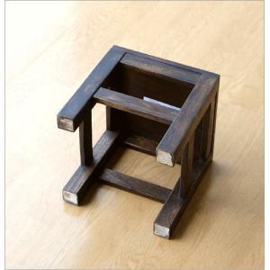 スツール 木製 椅子 いす イス ミニスツール 玄関 花台 ミニテーブル ウッドチェア おしゃれ スクエアスツール gigiliving 04