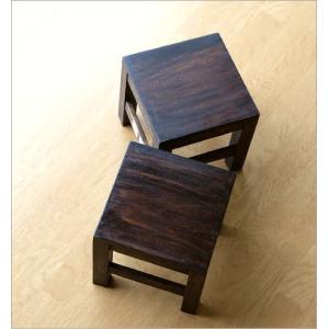 スツール 木製 椅子 いす イス ミニスツール 玄関 花台 ミニテーブル ウッドチェア おしゃれ スクエアスツール gigiliving 05
