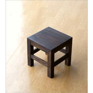 スツール 木製 椅子 いす イス ミニスツール 玄関 花台 ミニテーブル ウッドチェア おしゃれ スクエアスツール gigiliving 06
