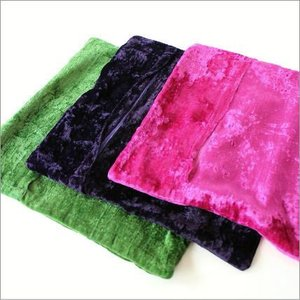 クッションカバー 45×45 おしゃれ かわいい 正方形 アジアン エレガント グリーン ネイビー ピンク ソファ 刺繍ベルベットクッションカバー 3カラー|gigiliving|05
