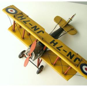 ブリキのおもちゃ 置物 置き物 インテリアオブジェ アンティーク レトロ 雑貨 American Nostalgia 飛行機