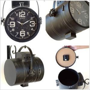 壁掛け時計 掛け時計 掛時計 壁掛時計 おしゃれ アンティーク レトロ クラシック ヴィンテージ カフェ かっこいい ウォールクロック スポットライト|gigiliving|03
