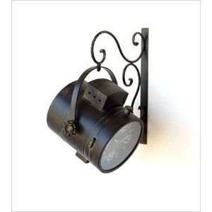 壁掛け時計 掛け時計 掛時計 壁掛時計 おしゃれ アンティーク レトロ クラシック ヴィンテージ カフェ かっこいい ウォールクロック スポットライト|gigiliving|04