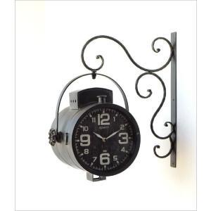 壁掛け時計 掛け時計 掛時計 壁掛時計 おしゃれ アンティーク レトロ クラシック ヴィンテージ カフェ かっこいい ウォールクロック スポットライト|gigiliving|05