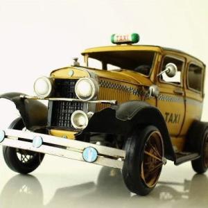 ブリキのおもちゃ 置物 置き物 インテリアオブジェ アンティーク レトロ 雑貨 American Nostalgia タクシー
