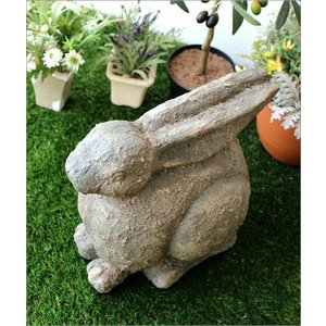 ガーデン置物 置き物 うさぎ ウサギ ガーデンオブジェ レジンラビット gigiliving 02