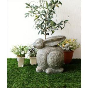 ガーデン置物 置き物 うさぎ ウサギ ガーデンオブジェ レジンラビット gigiliving 05