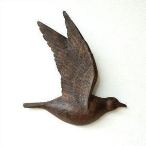 壁掛けインテリア 壁飾り 壁掛けオブジェ 鳥 雑貨 バード壁飾り B|gigiliving