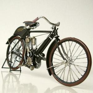 ブリキのおもちゃ 置物 置き物 インテリアオブジェ アンティーク レトロ 雑貨 American Nostalgia バイク