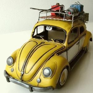 ブリキのおもちゃ 置物 置き物 インテリアオブジェ アンティーク レトロ 雑貨 American Nostalgia キャリーカー