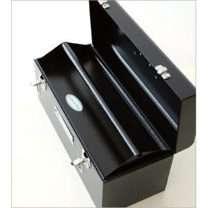 工具箱 ツールボックス おしゃれ 道具箱 インテリア 小物入れ 収納ボックス 園芸 ガーデン ガーデニング かっこいい ユーティリティーBOX|gigiliving|03