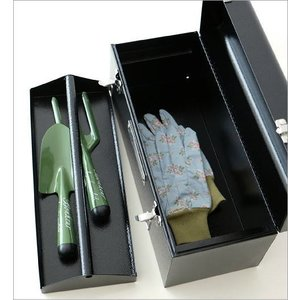 工具箱 ツールボックス おしゃれ 道具箱 インテリア 小物入れ 収納ボックス 園芸 ガーデン ガーデニング かっこいい ユーティリティーBOX|gigiliving|04