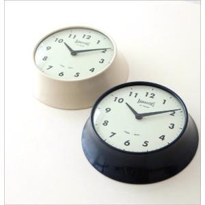 壁掛け時計 壁掛時計 掛け時計 掛時計 モダン おしゃれ カフェ シンプル かわいい インテリア ナチュラル レトロ 丸 デザイン ハンズウォールクロック 2カラー|gigiliving|02