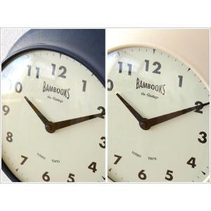 壁掛け時計 壁掛時計 掛け時計 掛時計 モダン おしゃれ カフェ シンプル かわいい インテリア ナチュラル レトロ 丸 デザイン ハンズウォールクロック 2カラー|gigiliving|03
