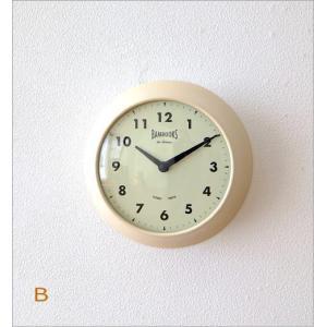 壁掛け時計 壁掛時計 掛け時計 掛時計 モダン おしゃれ カフェ シンプル かわいい インテリア ナチュラル レトロ 丸 デザイン ハンズウォールクロック 2カラー|gigiliving|05
