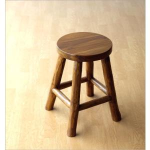 スツール 木製 椅子 おしゃれ アジアン家具 無垢 丸椅子 天然木 チーク原木スツール S|gigiliving|05