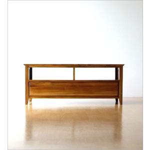 テレビ台 テレビボード おしゃれ 収納 TV台 木製 無垢 アジアン家具 完成品 チークローボード114|gigiliving|06