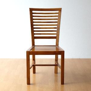 ダイニングチェア 木製 デスクチェアー 椅子 無垢 おしゃれ 天然木 北欧 アジアン家具 完成品 チークチェアー|gigiliving