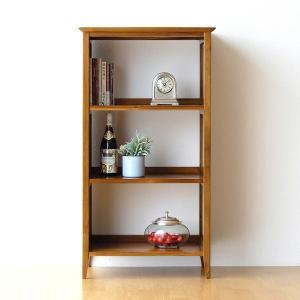 本棚 書棚 マガジンラック 雑誌 収納棚 多目的ラック 飾り棚 飾棚 アジアン家具 完成品 無垢 チークフリーラック60|gigiliving