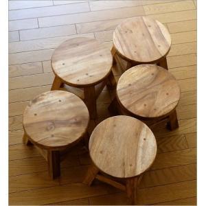 スツール 木製 子供 椅子 玄関 チェア 腰掛け 花台 フラワースタンド 天然木 無垢材 チャイルドスツール|gigiliving|05