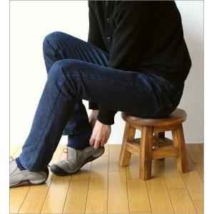 スツール 木製 子供 椅子 玄関 チェア 腰掛け 花台 フラワースタンド 天然木 無垢材 チャイルドスツール|gigiliving|06