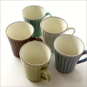 マグカップ 陶器 おしゃれ 益子焼 ストレートマグ 5カラー|gigiliving
