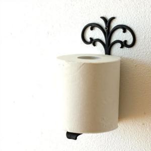 トイレットペーパースタンド 真鍮 アンティーク おしゃれ エレガント 壁掛け 壁付け ブラス壁掛ペーパーストッカー|gigiliving