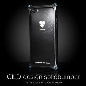 ギルドデザイン NEMモデル ソリッドバンパー iPhoneX iPhone8/7 iPhone8Plus/7Plus アルミ スマホケース GILD design|gilddesign