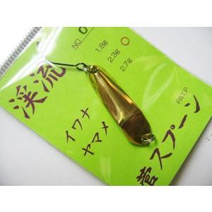 菅スプーン 菅スプーン 1.8g (01 金) 【ネコポス対応商品】|gill