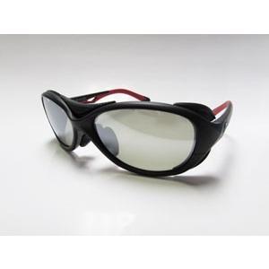ジールオプティクス BATLER(バトラー) F-1720 (フレーム:ブラック/レッド)(レンズ:トゥルービュースポーツ/シルバーミラー)|gill