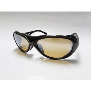 ジールオプティクス BATLER(バトラー) F-1722 (フレーム:ブラウン/ブラック)(レンズ:ラスターオレンジ/シルバーミラー)|gill