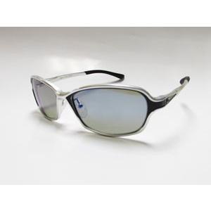 ジールオプティクス Dorio(ドリオ) F-1660 (フレーム:シルバー/ブラック)(レンズ:トゥルービュースポーツ/ブルーミラー)|gill