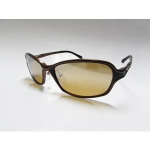 ジールオプティクス Dorio(ドリオ) F-1665 (フレーム:ブラウン/ブラック)(レンズ:ラスターオレンジ/シルバーミラー)|gill