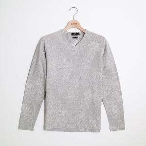 gim ジム ボタニカル柄V/NTシャツ M|gimonline
