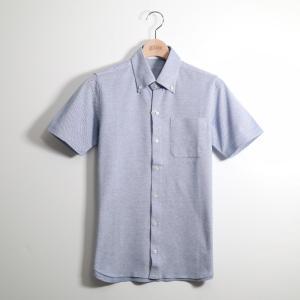gim ジム カノコ半袖ボタンダウンポロシャツ S|gimonline