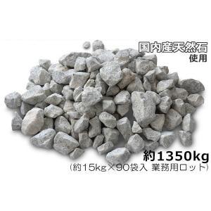 国内産天然石を砕いた自然素材の敷砂利です。車が踏むたびにしっかり締まるような粒度に配合されています。...