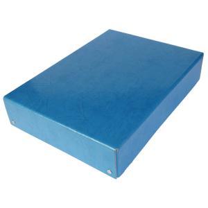 整理箱 紙製(青/無地/A4対応)O-PPB ギンポー 銀鳥産業 gincho
