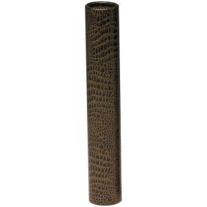 ギンポー ワニ皮丸筒 直径5cm×長さ30cm(A4サイズまで) gincho