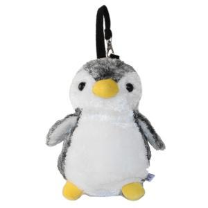 アクアキッズ ポーチ ペンギン ブラック gincho