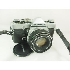 オリンパス M-1 シルバー 50mmF1.8付き