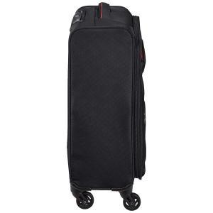 ヒデオワカマツ スーツケース フライエア S 超軽量ソフトキャリー 機内持ち込み可 26L 55 cm 1.9kg ブラック|gingaichimarket
