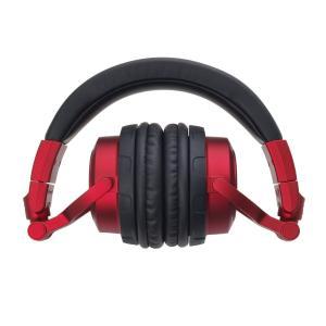 audio-technica 密閉型DJモニターヘッドホン 着脱コードタイプ レッド ATH-PRO...